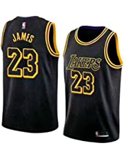 1183d5a37de runvian Men s Jersey - NBA Lakers  23 Lebron James Mesh Basketball Swingman  Jersey