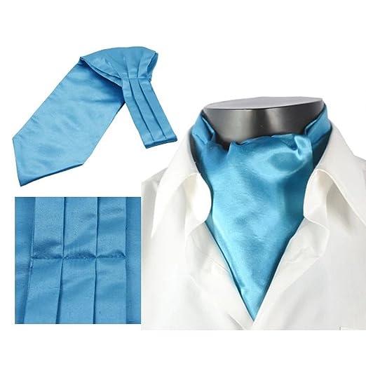 LIXIONG Hombres Corbata Bufanda Camisa Color sólido Bufanda Trajes ...