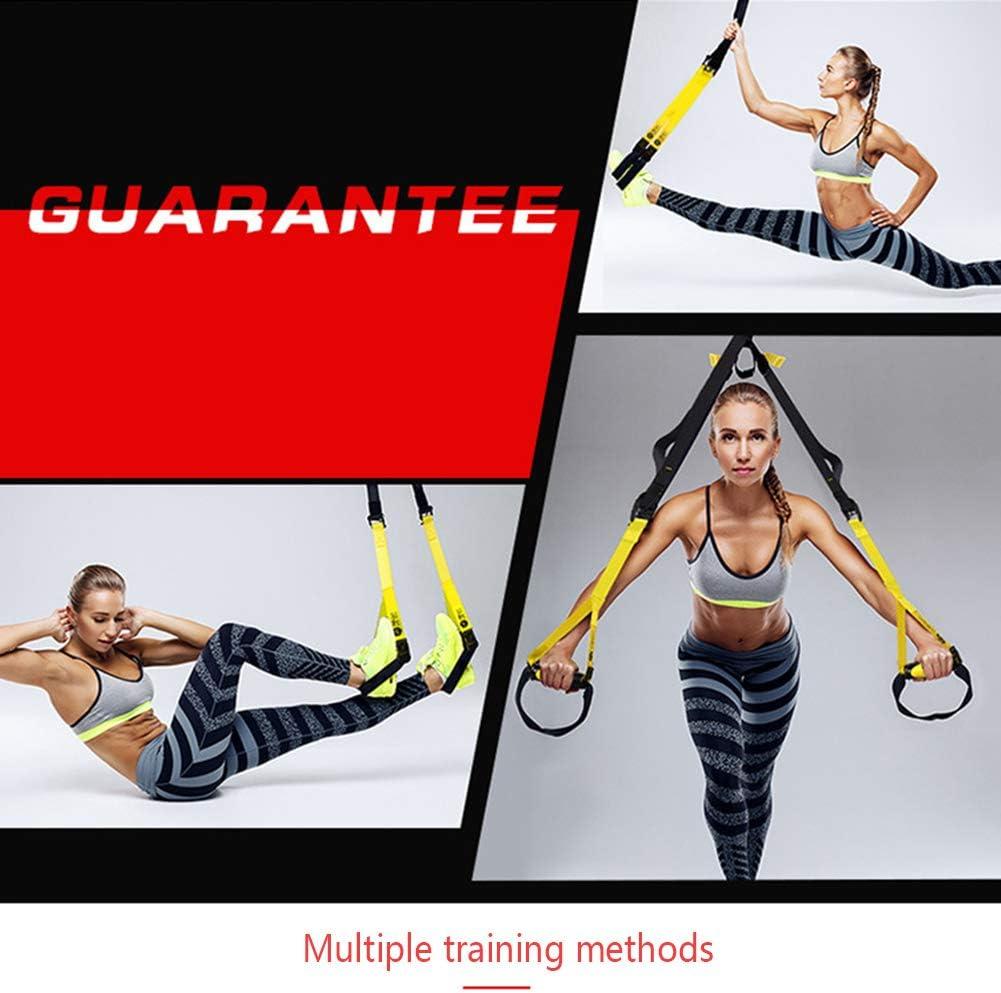 MIAOPAI R/églable Suspension Tension Ceinture Suspension Formation Ceinture Pull Corde Gym Exercice Fitness Fitness Formation Traction R/ésistance Bande