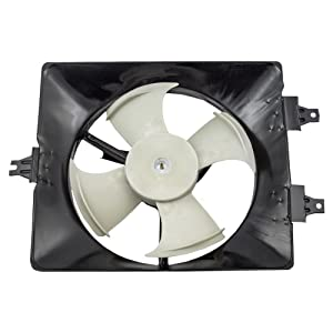 A/C Condenser Fan Assembly - Cooling Direct For/Fit HO3113120 03-08 Honda Pilot 01-02 Acura MDX