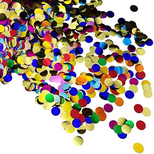 decoraci/ón met/álica Puntos de Confeti Redondos con c/írculos de Plata para Manualidades 15 g decoraci/ón de Mesa para Boda cumplea/ños Fiesta de beb/é Color Rosa Purpurina versandhop Fiesta