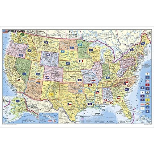 USA Bundesstaaten mit Postleitzahlen