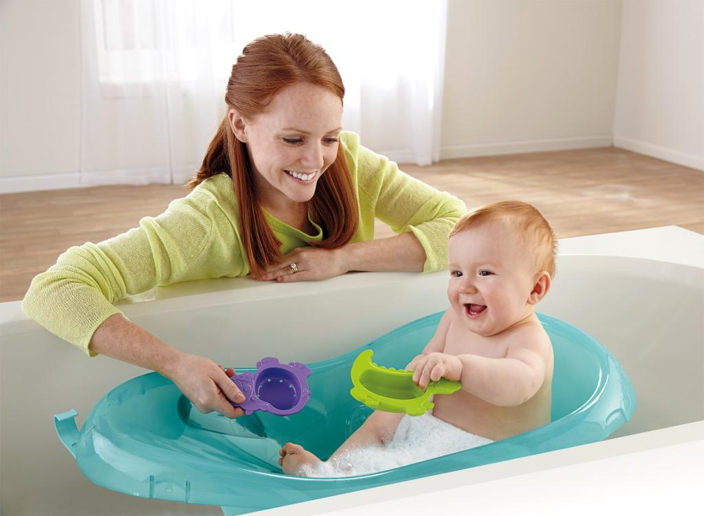 fisher price bath tub rainforest friends baby. Black Bedroom Furniture Sets. Home Design Ideas
