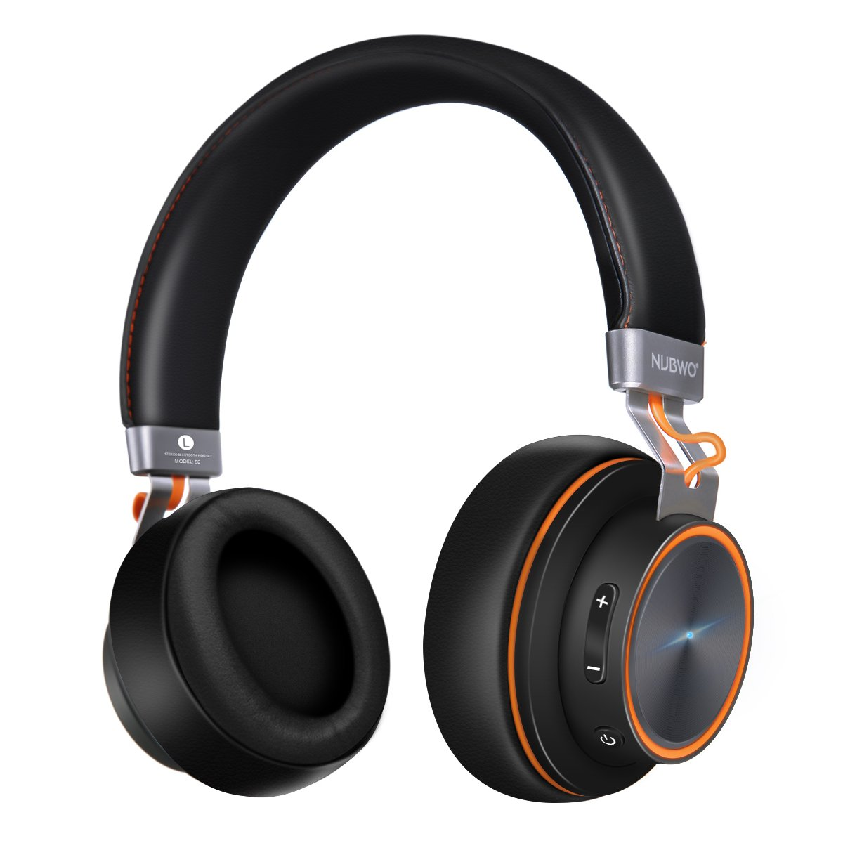 Bluetooth Headphones, ELEGIANT S2 Over Ear Bluetooth Headset Hi-Fi Stereo Headphones with Adjustable Headband, Soft-Protein Earpads, 16-Hour Playtime and Wired Mode for iPhone Android Phones PC