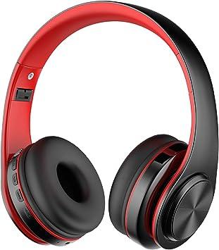 Alitoo Auriculares Inalámbricos, Bluetooth de Diadema Sobre Oreja ...