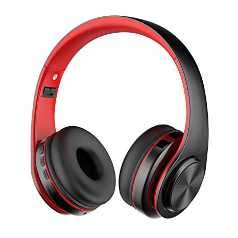 Alitoo Bluetooth Wireless Headphone Over Ear, Hi-Fi Stereo Headset Foldable Built in Microphone and Wired Mode Audio Rechargeable Headphones for ...