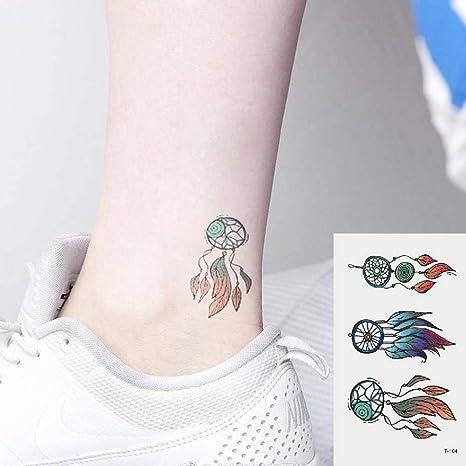Oottati 2 Hojas Pequeño Lindo Tatuaje Temporal Tattoo Atrapasueños