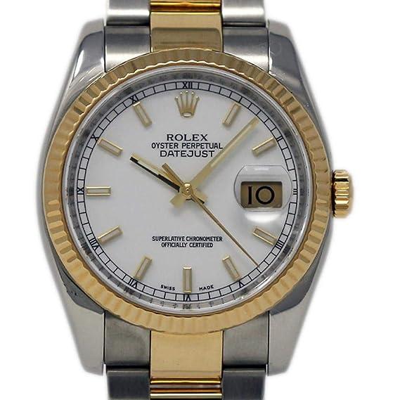 Rolex Datejust swiss-automatic Mens Reloj 116233 (Certificado) de segunda mano