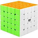 D-FantiX Qiyi Qizheng S 5x5 Speed Cube Stickerless Magic Cube Puzzles Toys 62mm