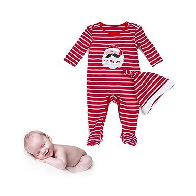Morbuy Mono para Bebé, Mameluco Pelele Bebé Niños Ropa Unisex Niñas de otoño Franela Traje