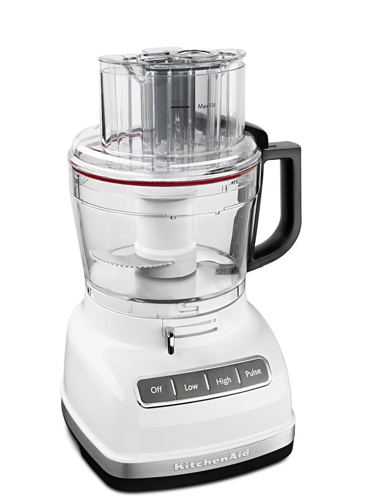 KitchenAid KFP1133WH 11-Cup Food Processor with Exact Slice System - White by KitchenAid (Image #2)