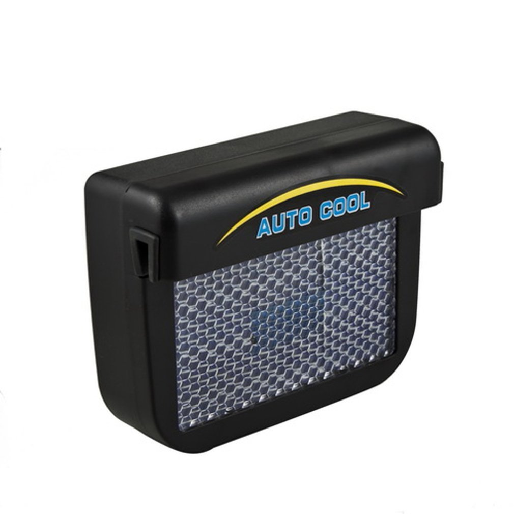 Solar Sun Power Car Auto Air Vent Fresco Ventola Raffreddamento Sistema di ventilazione Radiatore