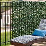 Faux Double Sided Leaves Privacy Screen 39″ x 9'9″ Review
