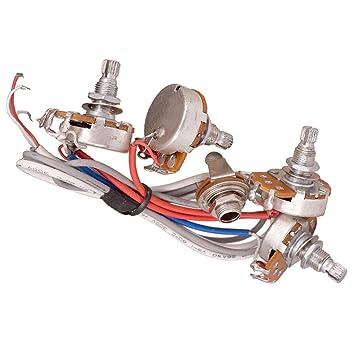 magideal A500 K + B500 K Ω Audio Mini Pots Guitarra potenciómetro ...
