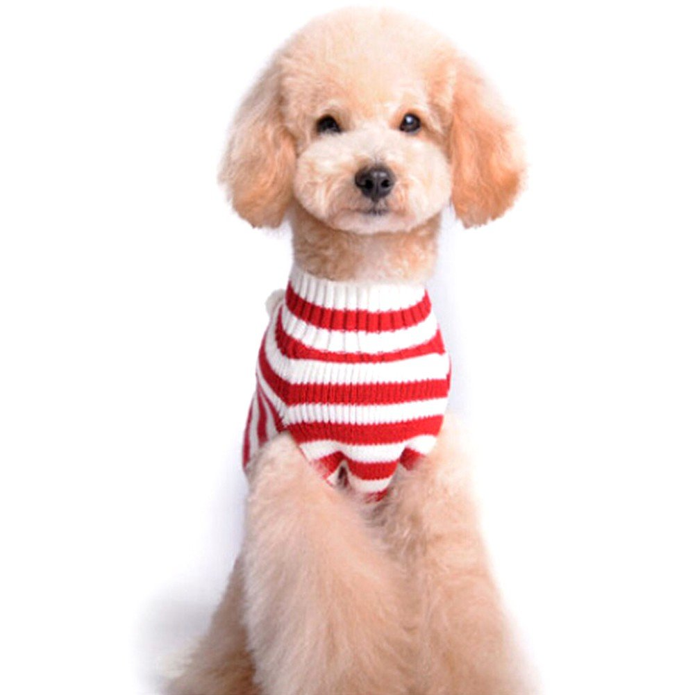 iEFiEL Disfraz Jersey Rayas para Perros Mascota Cachorro Gatos Ropa ...
