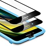 ESR Tempered-Glass for iPhone SE Screen Protector,[2-Pack] [3D+ Maximum Protection Full Coverage], Premium Tempered…