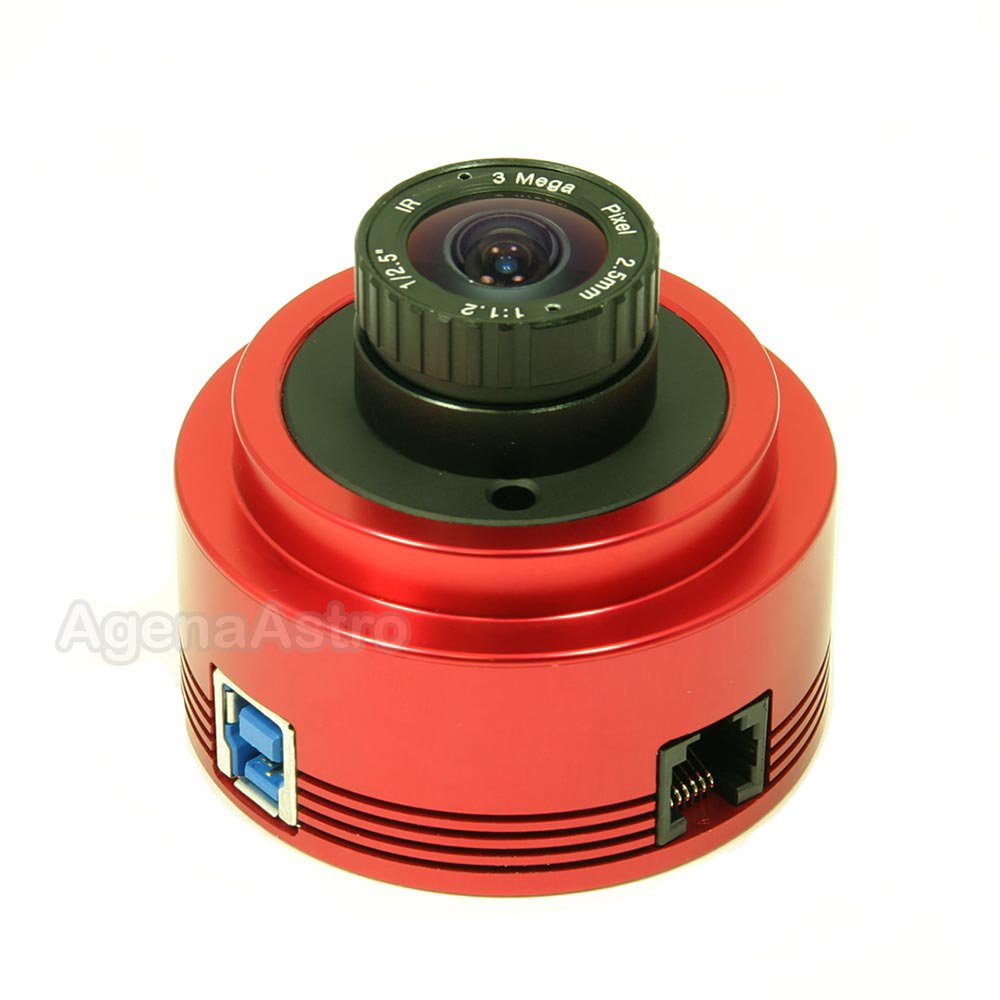 ZWO ASI178MM 6.4 Megapixel USB3.0 Monochrome Astronomy Camera for Astrophotography by ZWO