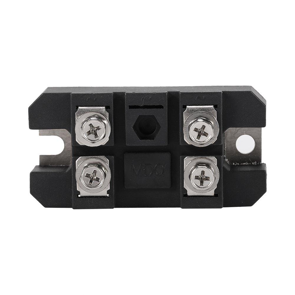 einphasige Diode Br/ückengleichrichter 150A Ampere 1600 V Schwarz 1 st/ück Diode Br/ückengleichrichter