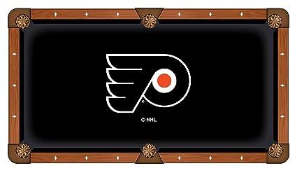 Amazoncom Philadelphia Flyers Pool Table Cloth Kitchen Dining - Pool table philadelphia
