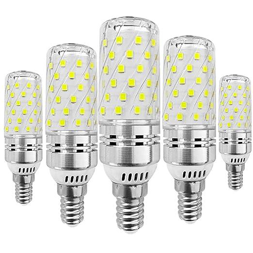 KitaBulb - Bombillas LED de maíz (5 unidades, rosca Edison E14, 16 W