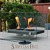 Tabletop Fireplace (Chiminea) Portable For Indoors/Outdoors. Uses Ethanol, Modern, Ventless, Does Not Emtit Unsafe Fumes, No Ashes/Soot, Easy To Clean And Little Maintenance. Take It Anywhere, Ignite Your Thoughts, Inspiration And Feelings Today!!