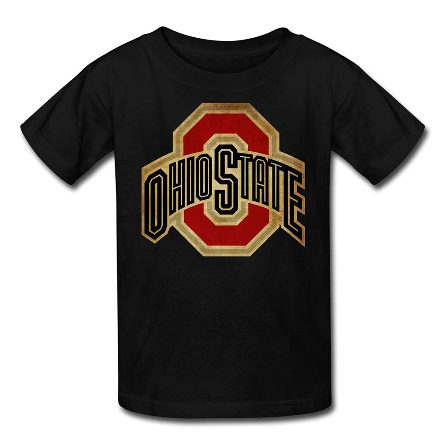 Agongda Youth's NCAA The Ohio State University OSU Ohio State Buckeyes Logo Tshirts