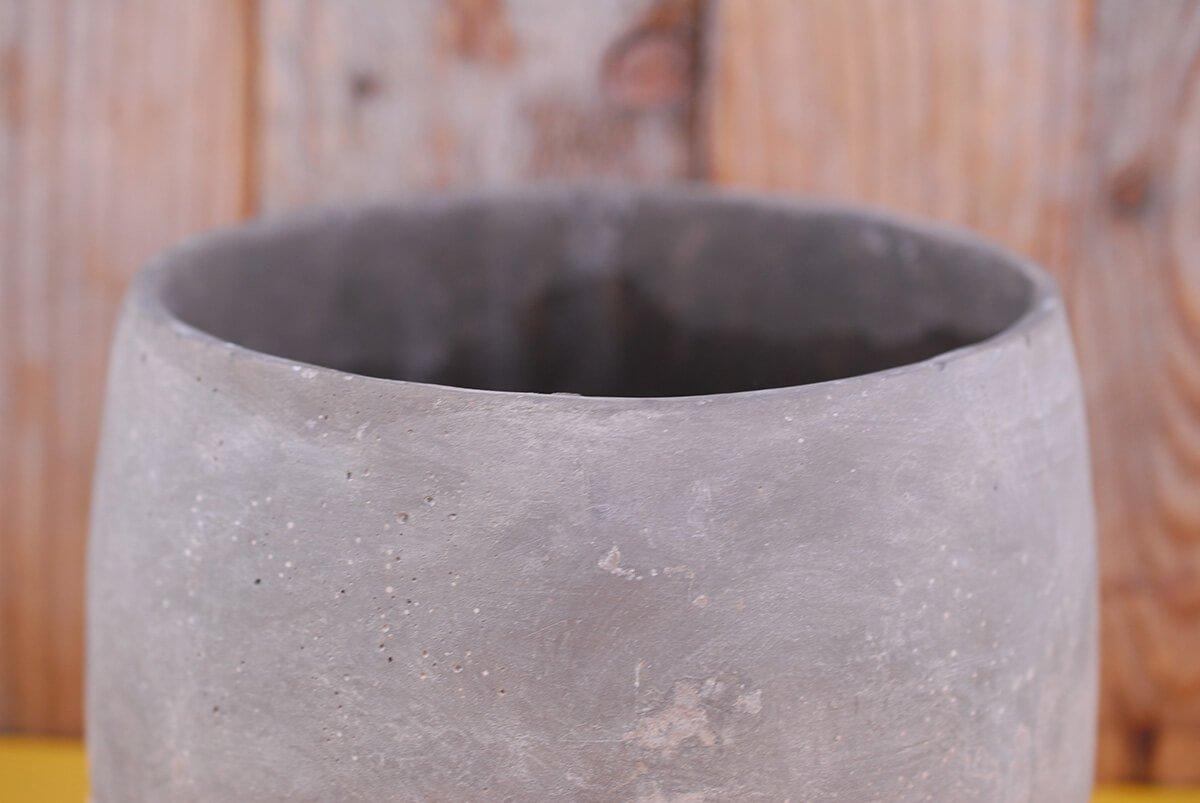 Dexon Power Dip Dyed Ceramic Ash Flower Pots 8'' x 6.25
