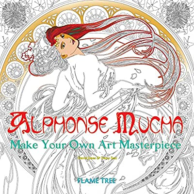 - Amazon.com: Alphonse Mucha (Art Colouring Book): Make Your Own Art  Masterpiece (Colouring Books) (9781786640468): Seal, Daisy, Flame Tree  Studio: Books