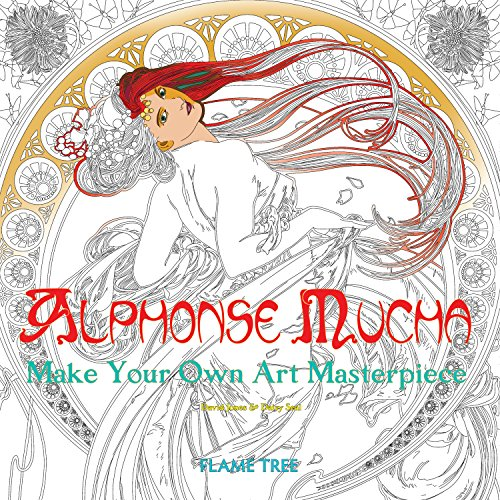- Alphonse Mucha (Art Colouring Book): Make Your Own Art Masterpiece (Colouring Books)