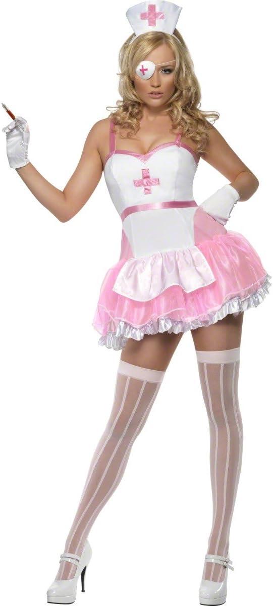 Fever Pin Up Nurse Costume (disfraz): Amazon.es: Juguetes y juegos