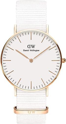 Daniel Wellington Classic Dover, Quarzuhrwerk, Nylonarmband