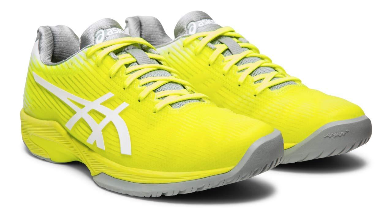 ASICS Solution Speed FF Women's Tennis Shoe, Safety Yellow/White, 5 M US