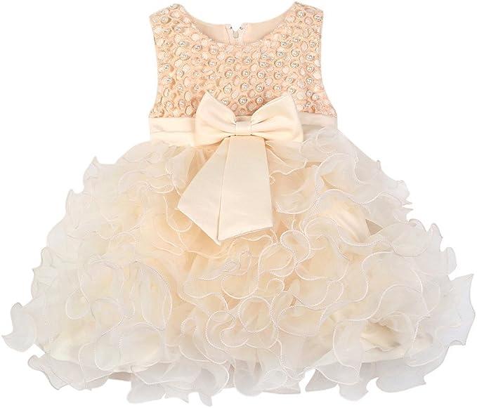Vestiti Eleganti Bimbo 6 Mesi.Mbby Vestiti Battesimo Neonati 6 24 Mesi Abito Da Carnevale Per