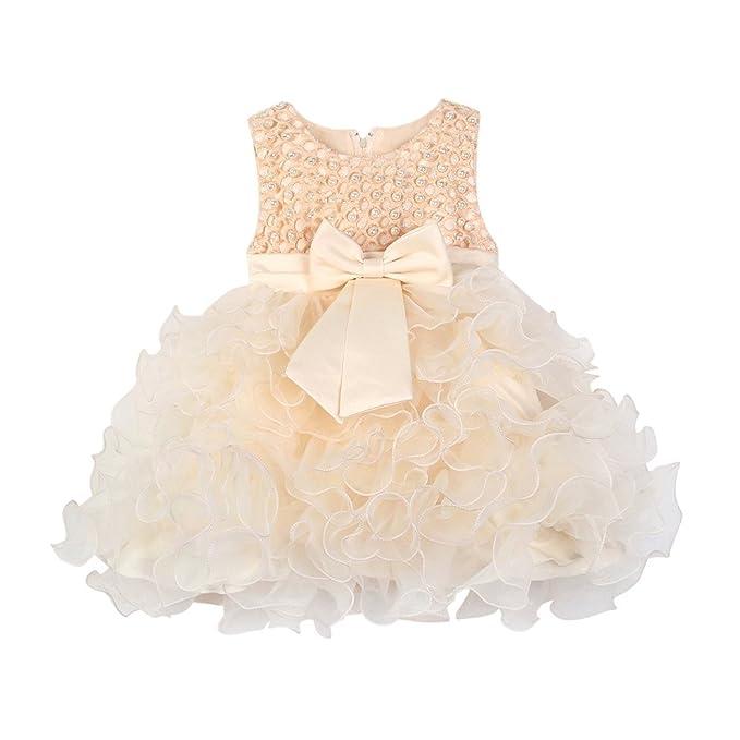 Vestiti Cerimonia Bambina 9 Mesi.Mbby Vestiti Battesimo Neonati 6 24 Mesi Abito Da Carnevale Per