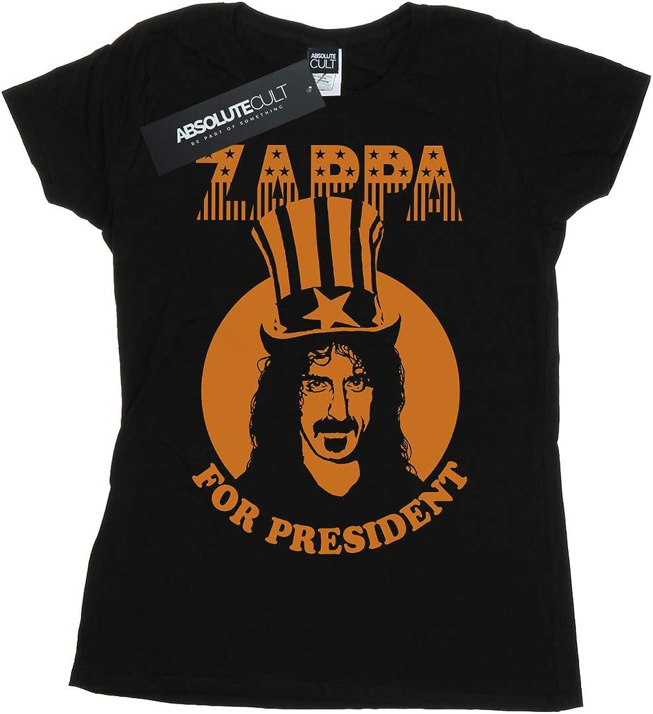 ABSOLUTECULT Frank Zappa Girls for President Sweatshirt