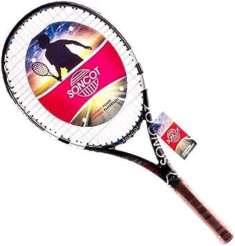 Amazon.com: soncot Full Fibra de Carbono Raqueta De Tenis ...
