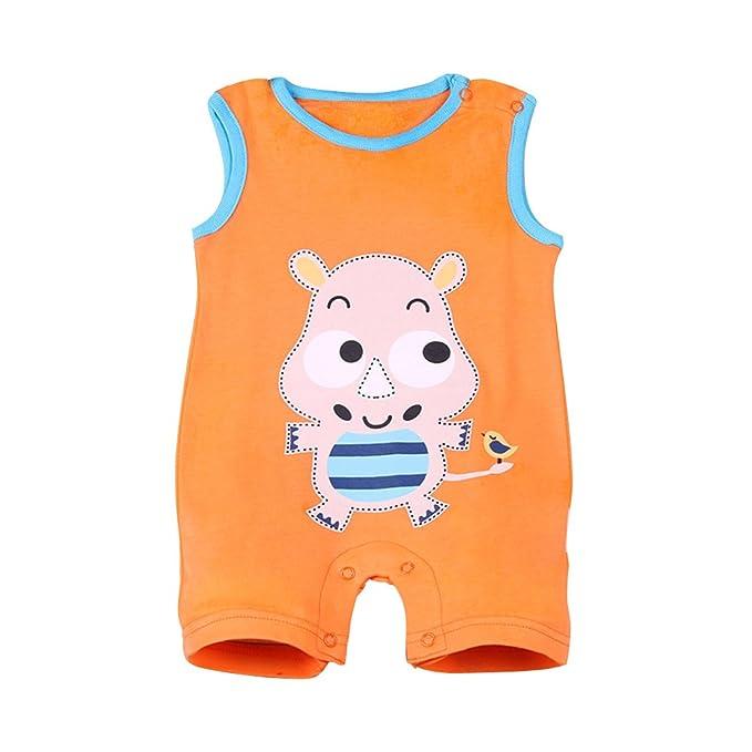 Amur Leopard Pijamas de Bebé 100% Algotón Ropa de Bebé para Dorimir Transpirable Fresco con