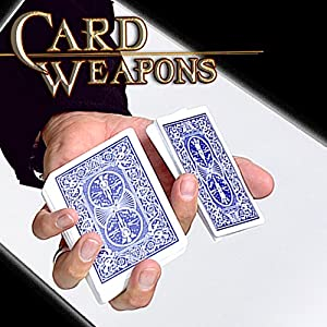 Magic Makers Card Weapons - 25 Card Moves & Tricks Instructional Magic Training with Ben Salinas