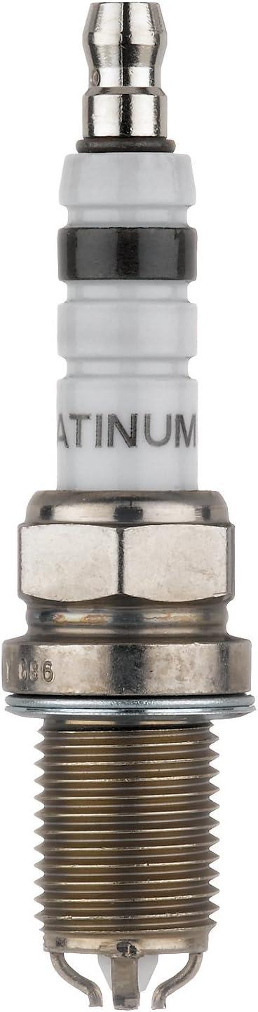 Bosch (4418) FGR8DQP Platinum + 4 Spark Plug, (Pack of 1)
