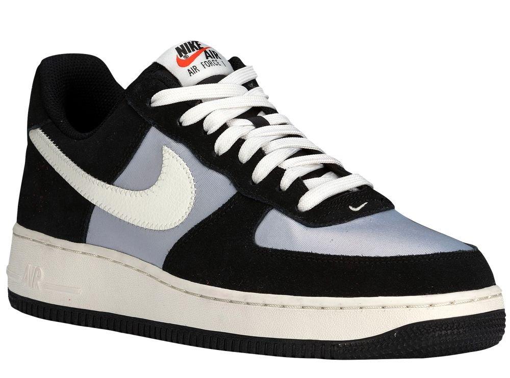 [ナイキ] Nike Air Force 1 Low - メンズ バスケット [並行輸入品] B071K635B4 US09.0 Black/Wolf Grey/Sail