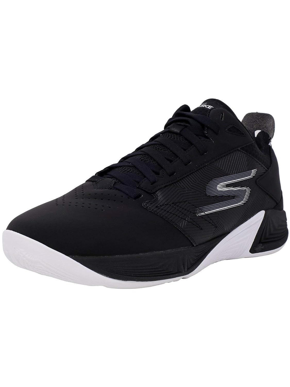 Skechers Men's Torch Ankle-High Basketball Shoe B07BDNX55P ブラック/ホワイト 9 D(M) US