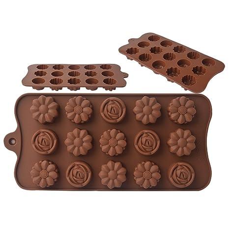 EVTECH (TM) palillo de la torta de pan Mousse Hielo Pudding Gel de silicona
