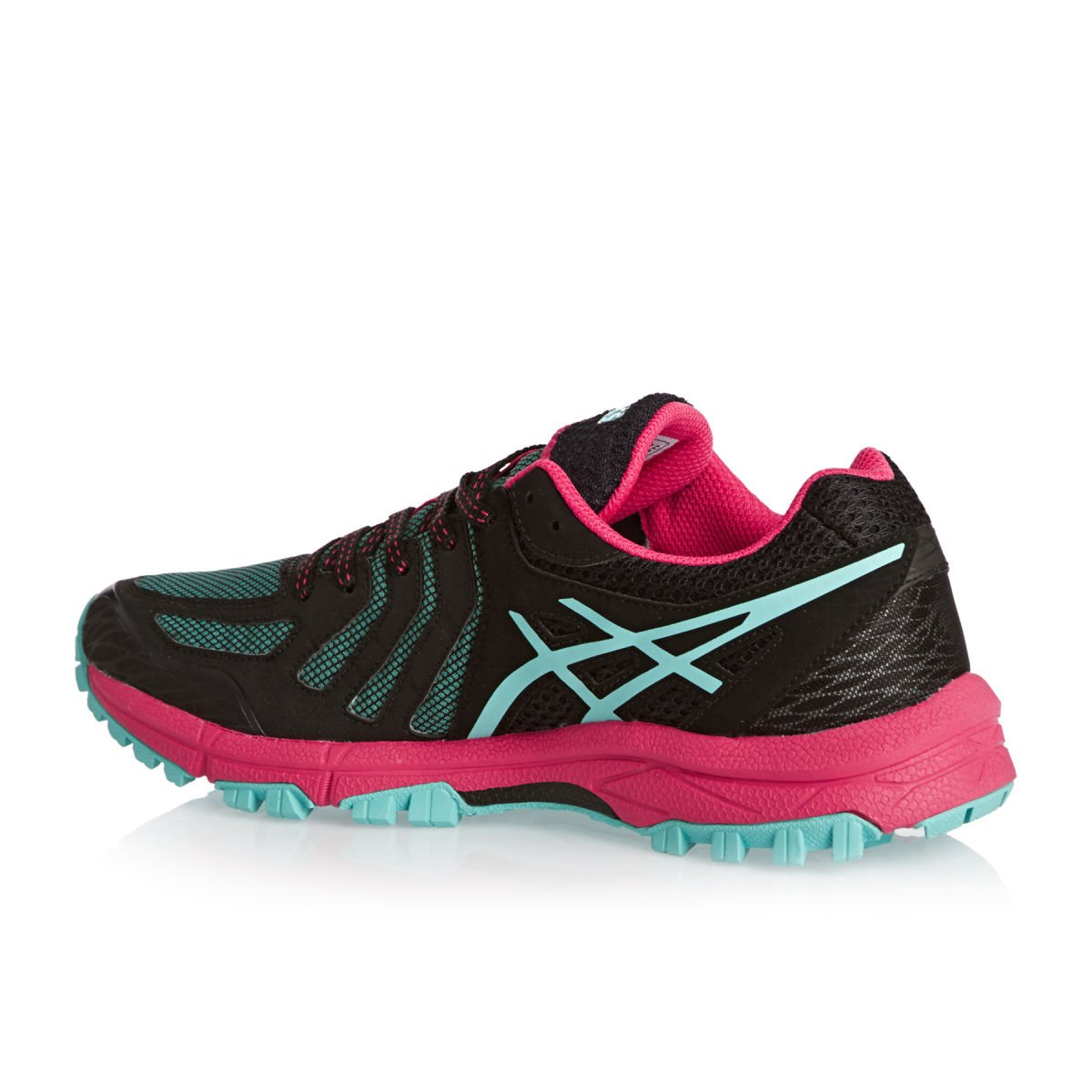 Amazon.com | ASICS Gel-Fuji Attack 5 Womens Running Shoes - SS16-5 - Black | Road Running