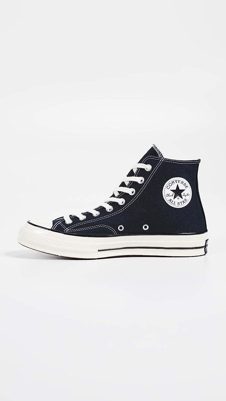 Converse Taylor Chuck 70 Hi, Sneakers Basses Mixte Noir Black Black Egret 001