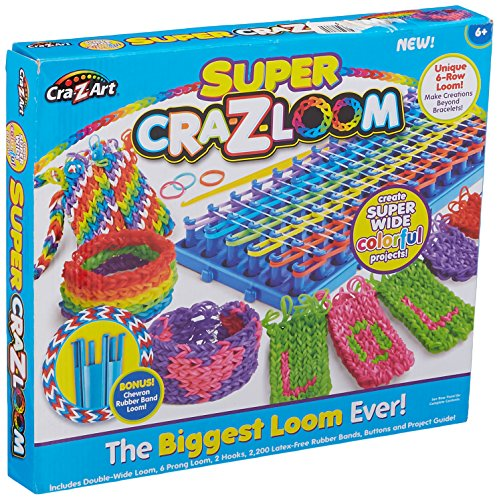 Super Loom - Cra-Z-Art CRA-Z-Loom Super CRA-z-Loom