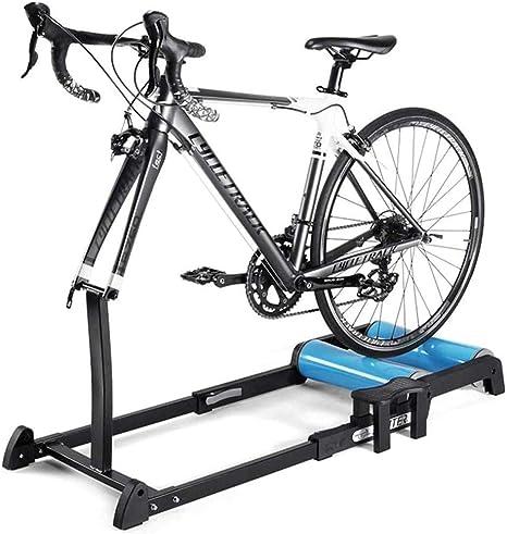 Diseño Silencioso Rodillo Para Bicicleta, Peso Ligero Desmontaje Rápido Rueda De Bicicleta Entrenador Para Bicicleta Para Ejercicio De Bicicleta En Interior Para 24-29 MTB Y 700C Bici De Carretera: Amazon.es: Deportes