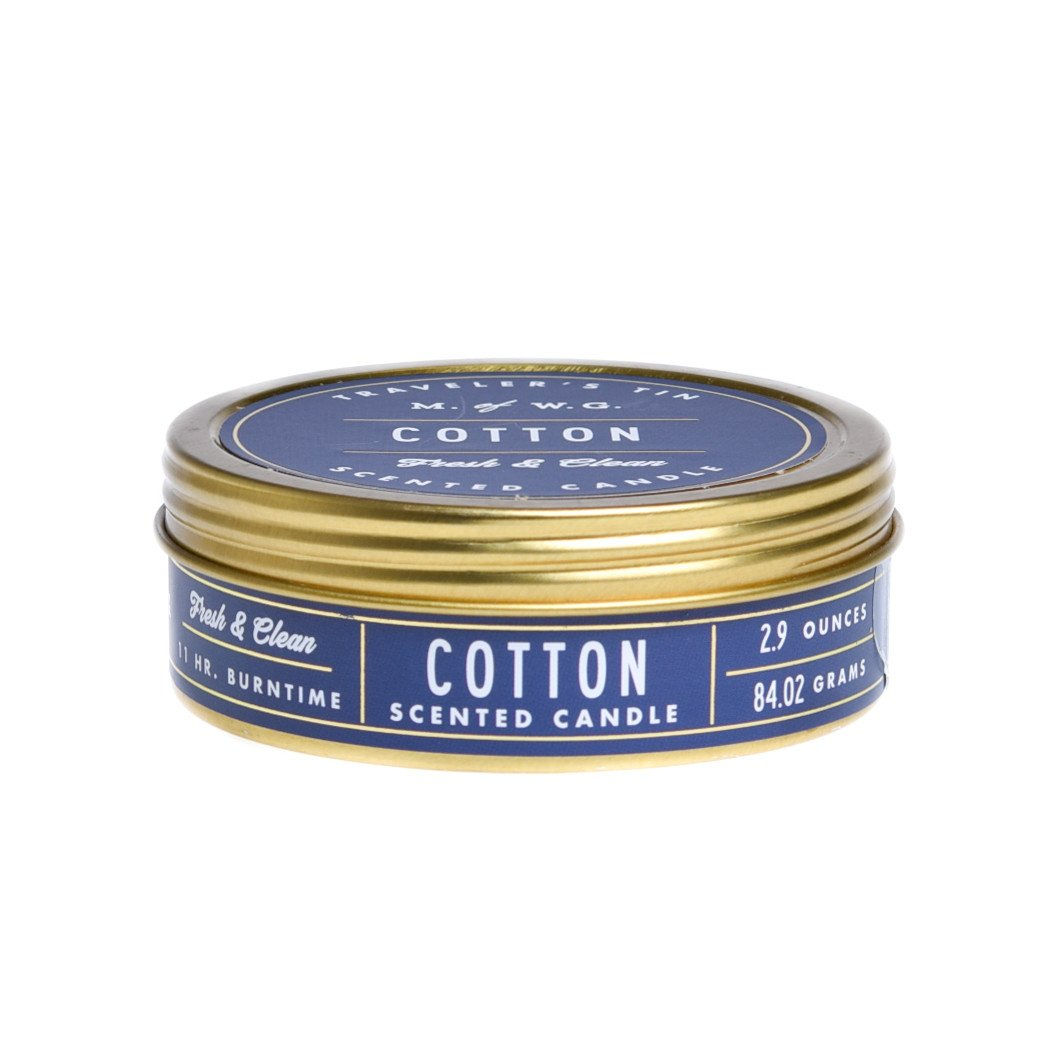 Makers of Wax Goods Candle in Travel Tin (Cotton)