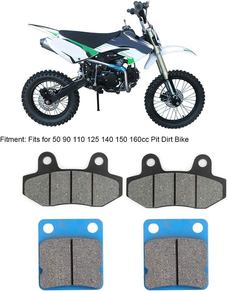 Esenlong Plaquette de Frein avant Et Arri/ère pour 50 90110125140150 160Cc Pit Dirt Bike