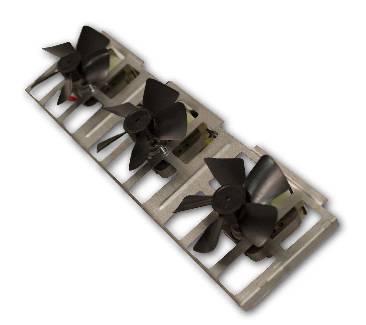 amazon com comfort flame bk3 fireplace wood burning triple fan