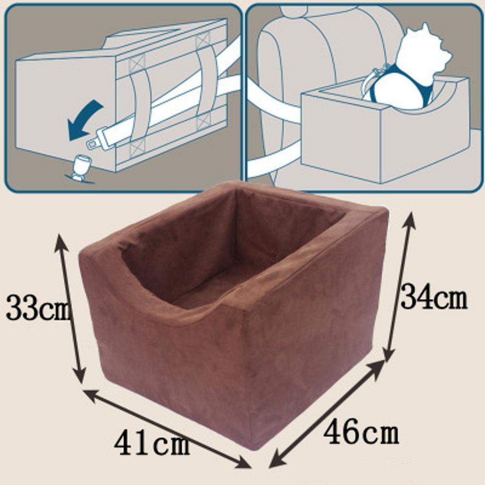 Kaxima Sicurezza sedile Pet auto cuscino gatto cane auto cuscino cuscino cane cuscino cuscino veicolo cane seggiolino di sicurezza per animali